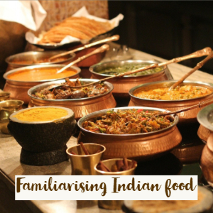 Image of indian food buffet