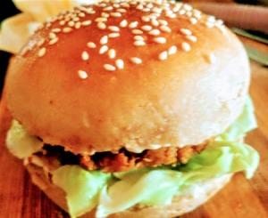 wholewheat burger bun