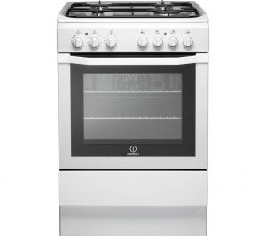 Image of a built-in convention oven