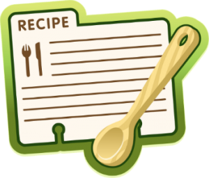 Image of a recipe page