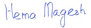 Hema Magesh signature
