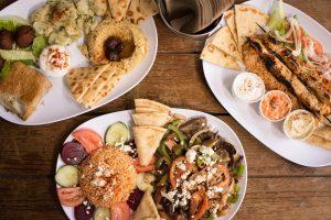 Food showing international cuisine