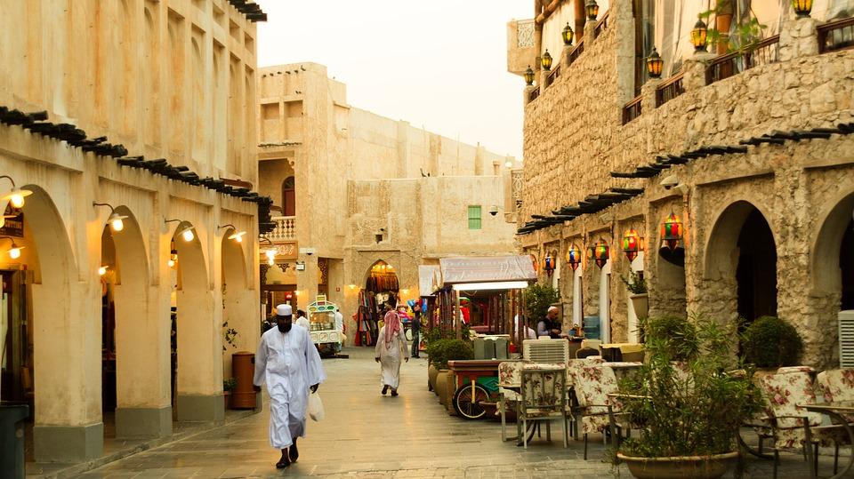 Souq in Qatar