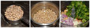 ssteps 1-3 falafel preparation