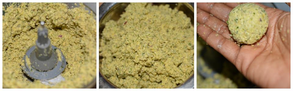 steps 4-6 falafel preparation