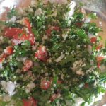 Tabbouleh or parsely salad