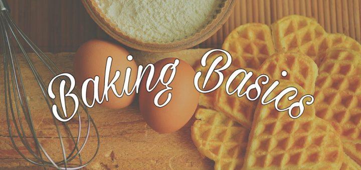 image for baking basics