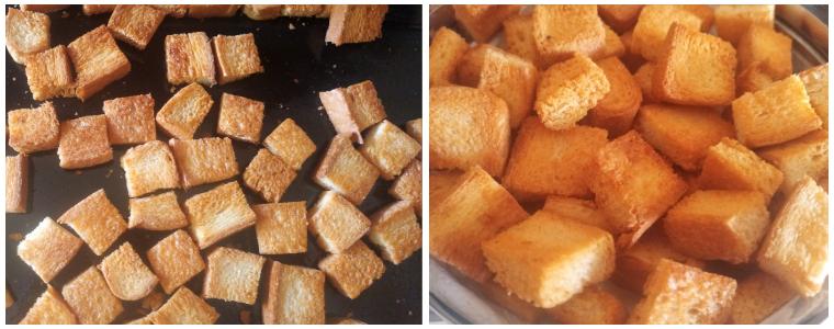 bread croutons prep steps 3&4