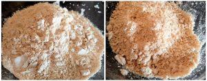 Pol roti preparation steps 3&4