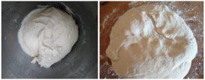 Eggless dinner roll preparation steps 7&8