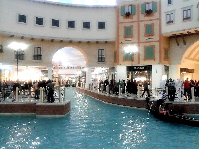 This is an image of Villagio mall in Qatar