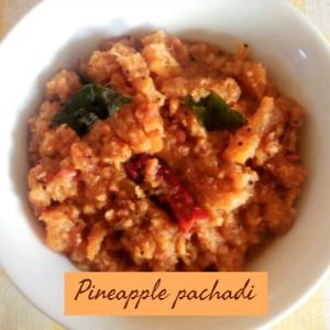 pineapple pachadi thumbnail image