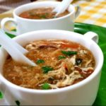 Hot and sour chicken soup featured image