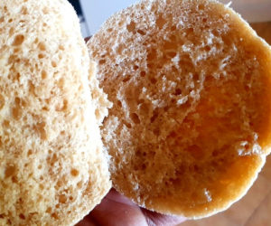 Wholewheat pita inside