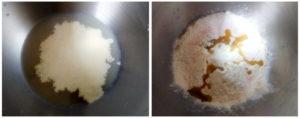 Wholewheat pita preparation steps 1&2