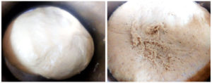 Wholewheat pita preparation steps 5&6