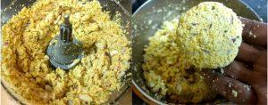 Paruppu vadai preparation step 4
