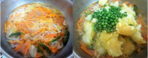 Vegetable ishtu prep step 2
